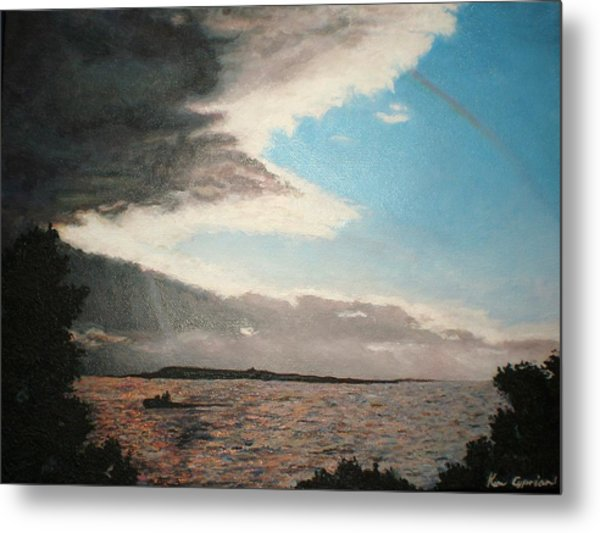 Lakeside Metal Print by Kim Cyprian