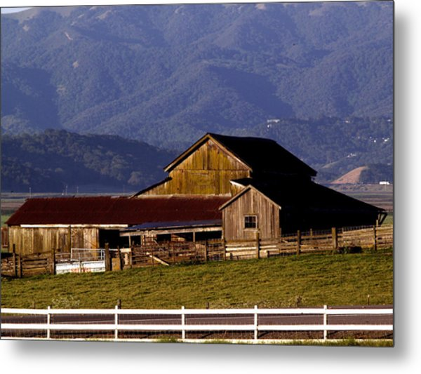 Lakeville Barn Metal Print