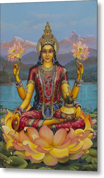 Lakshmi Devi Metal Print