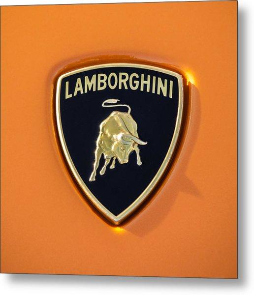 Lamborghini Emblem -0525c55 Metal Print