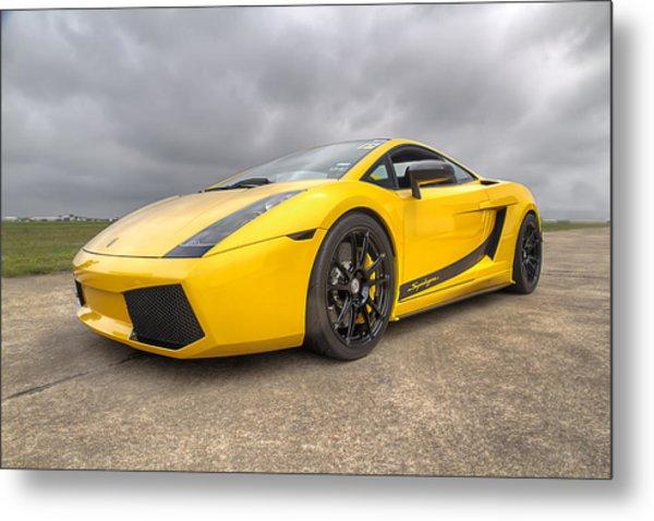 Lamborghini Gallardo Superleggera Metal Print