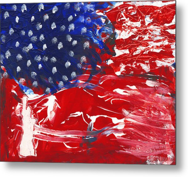 Land Of Liberty Metal Print