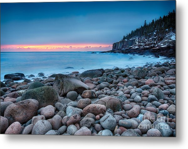 Land Of Sunrise Metal Print