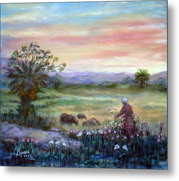 In The Farme  Metal Print