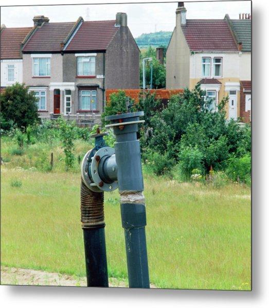 Landfill Gas Monitoring Metal Print