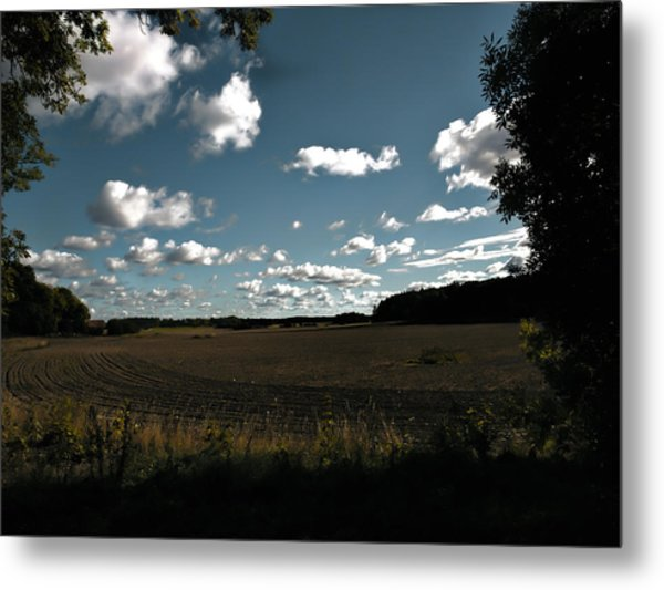 Metal Print featuring the photograph landscape Enkoepingsnaes by Leif Sohlman