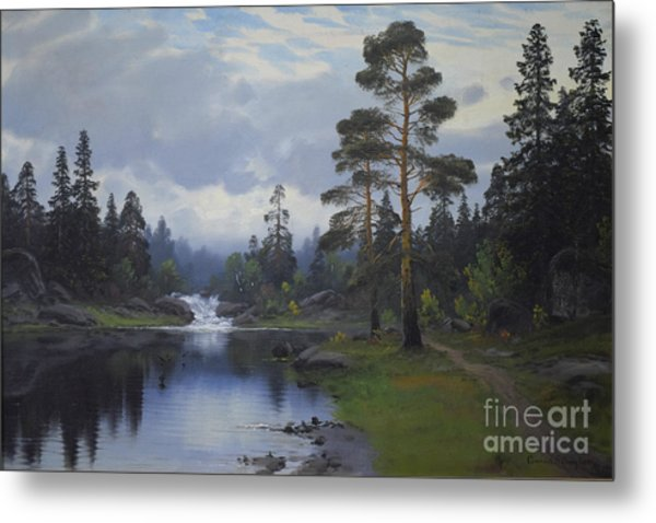 Landscape From Norway Metal Print
