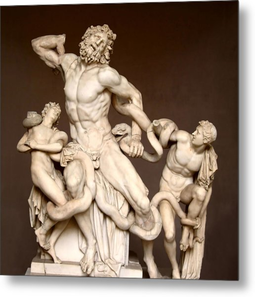 Laocoon And Sons Metal Print