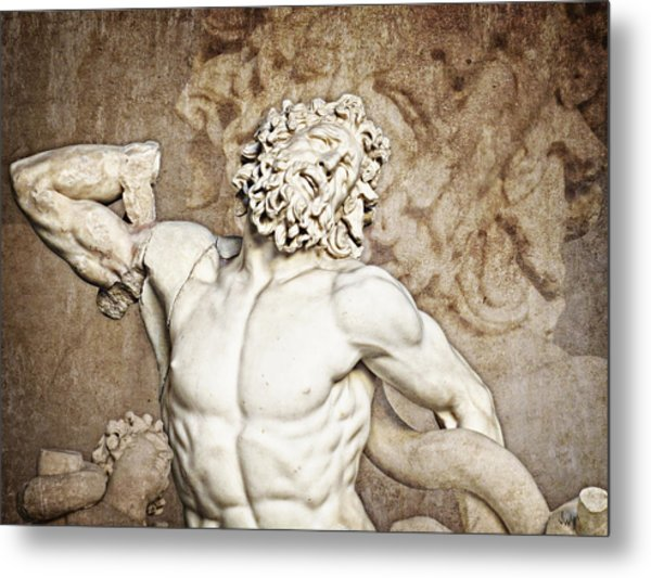 Metal Print featuring the photograph Laocoon by Joe Winkler