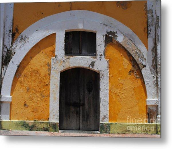 Large El Morro Arch Metal Print