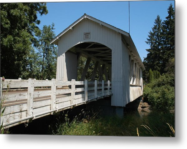 Larlwood Bridge Metal Print by Gene McKinley