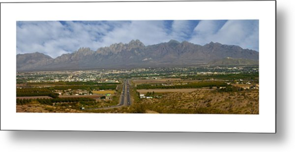 Las Cruces New Mexico Panorama Metal Print