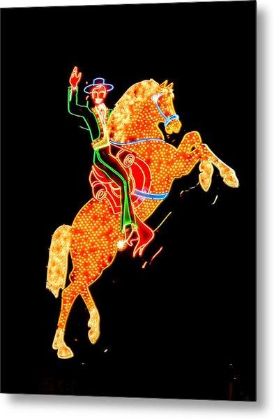 Las Vegas 065 Metal Print by Lance Vaughn