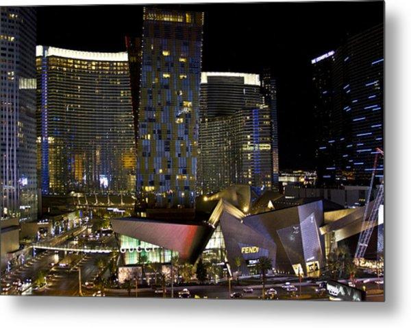 Las Vegas City Center Metal Print