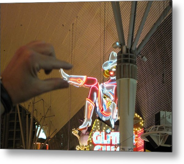 Las Vegas - Fremont Street Experience - 12129 Metal Print by DC Photographer