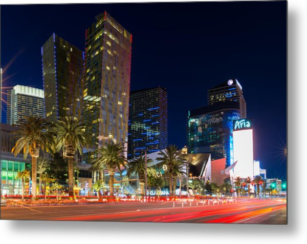 Las Vegas Strip Metal Print