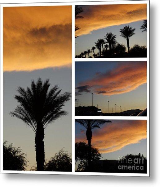Las Vegas Sunset Metal Print