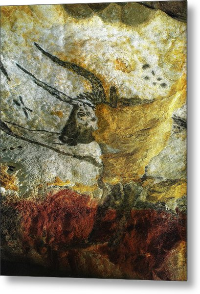 Lascaux II Number 3 - Vertical Metal Print