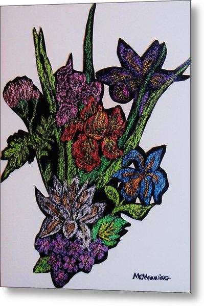 Last Bouquet Metal Print
