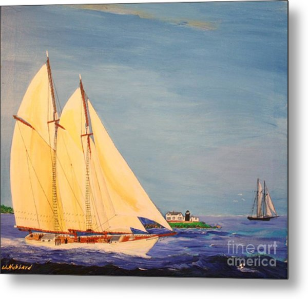 Last Cruise Of Sch. Arethusa Metal Print