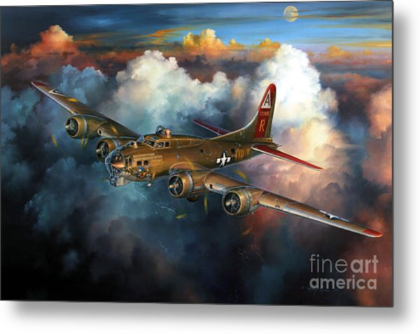 Last Flight For Nine-o-nine Metal Print