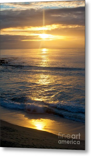 Last Light Metal Print by Chris Heitstuman