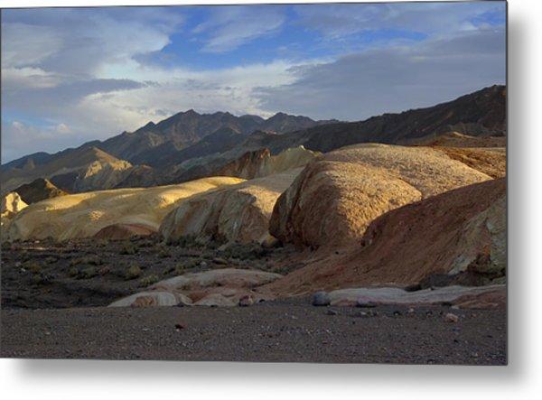 Last Light In Death Valley Metal Print