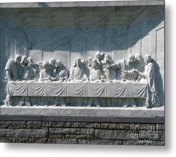 Last Supper Metal Print by Greg Patzer