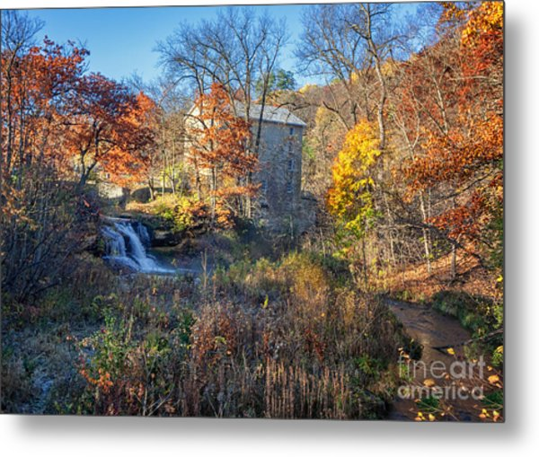Late October At Pickwick Mill II Metal Print