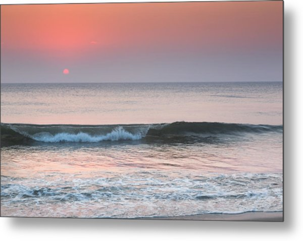 Late Summer Sunrise Metal Print