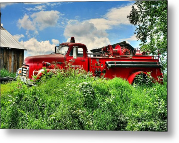 Late To The Fire 2 Metal Print