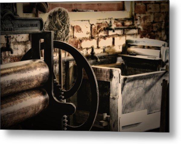 Laundry Metal Print by John Monteath