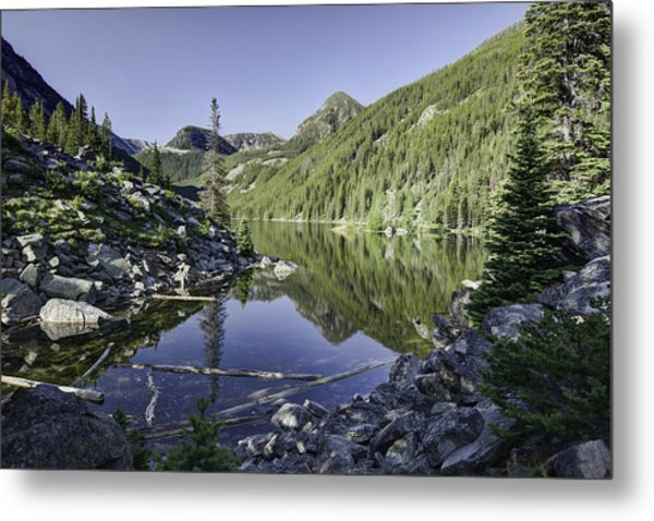 Lava Lake II Metal Print