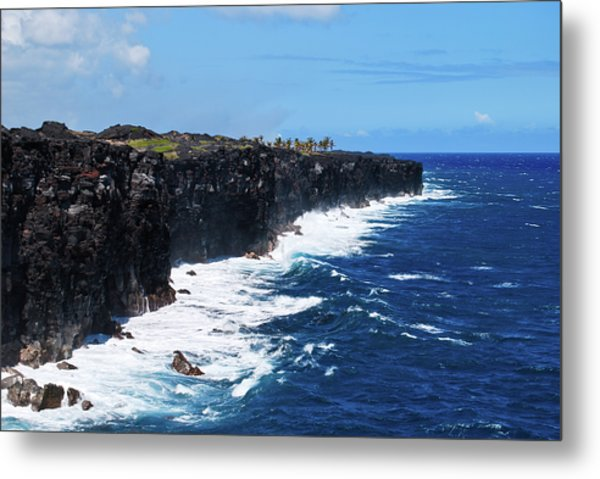 Lava Shore Metal Print