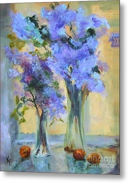 Lavender Bliss Metal Print by Kathleen Farmer