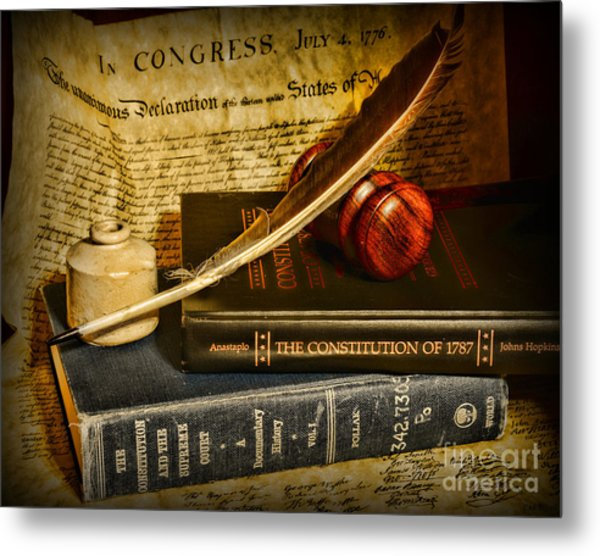 Lawyer - The Constitutional Lawyer Metal Print