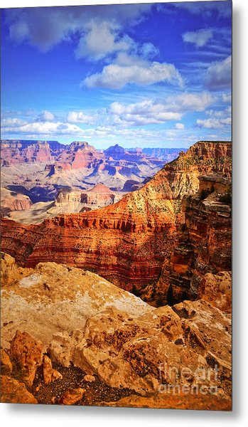 Layers Of The Canyon Metal Print