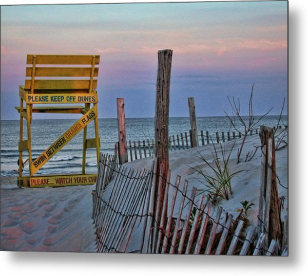 Metal Print featuring the photograph LBI by David Armstrong
