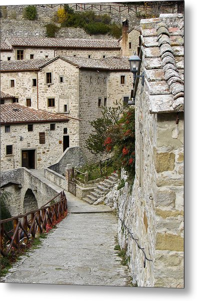 Le Celle Outside Cortona Italy Metal Print