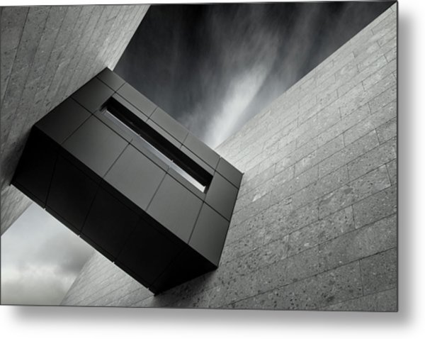 Le Passage Metal Print by Gilbert Claes