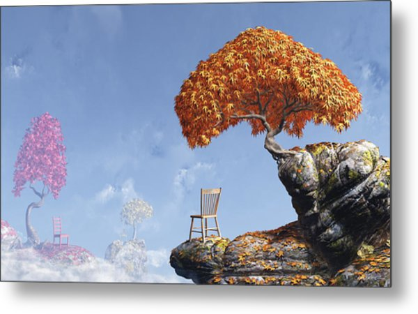 Leaf Peepers Metal Print