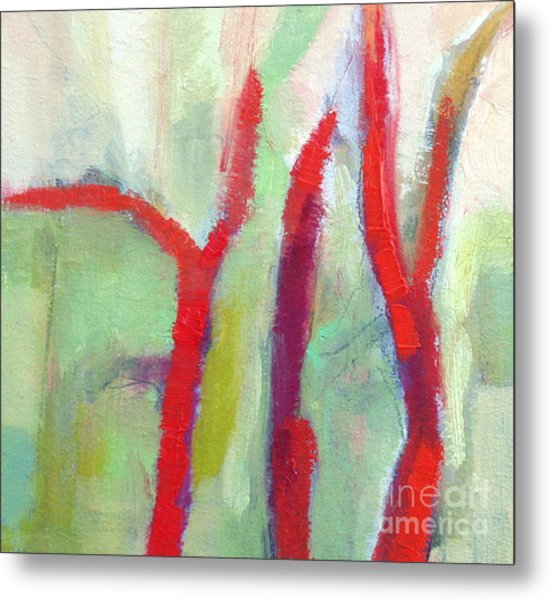 Leafless II  Metal Print by Virginia Dauth