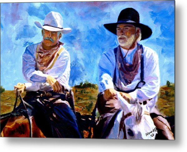 Leaving Lonesome Dove Metal Print