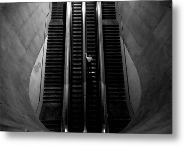 Leaving The Earth Entrails Metal Print