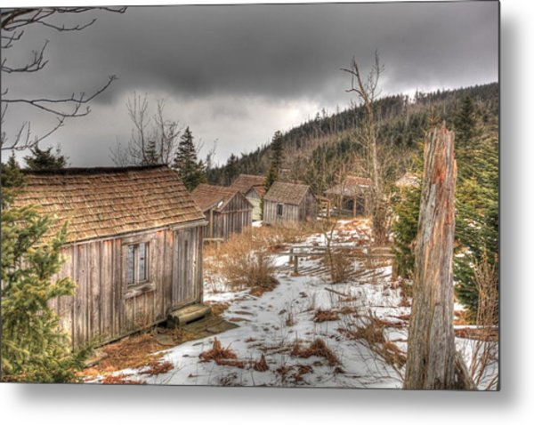 Leconte Lodge, Great Smoky Mountains National Park Metal Print