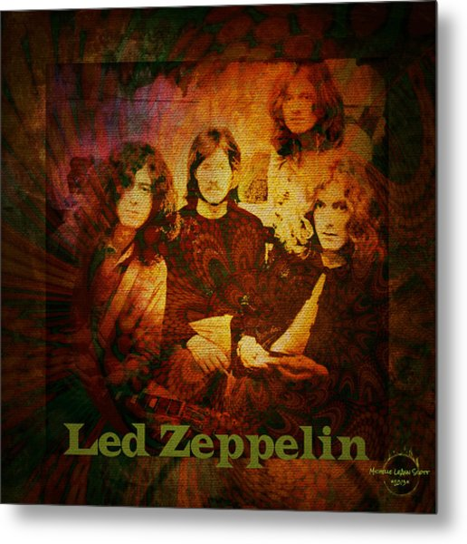 Led Zeppelin - Kashmir Metal Print