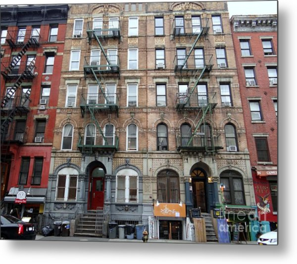 Led Zeppelin Physical Graffiti Building Metal Print