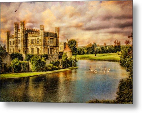 Leeds Castle Landscape Metal Print