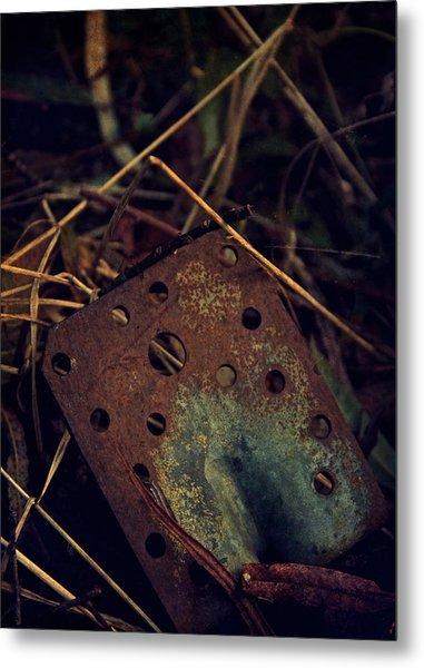 Left On The Floor Metal Print by Odd Jeppesen
