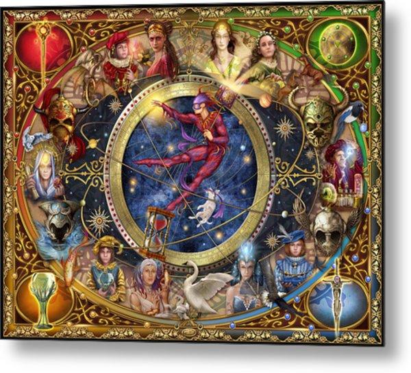 Legacy Of The Divine Tarot Metal Print